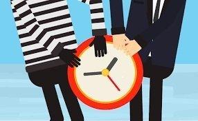 Ladrones de tiempo en el entorno laboral